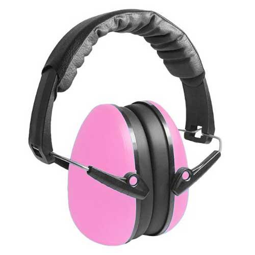Pink child earmuffs