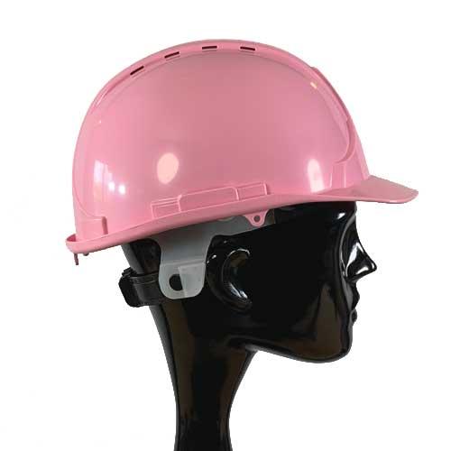 Pink Safety Helmet