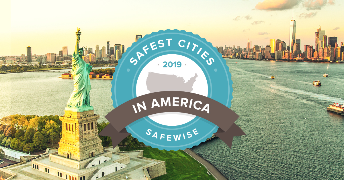 100 safest cities in