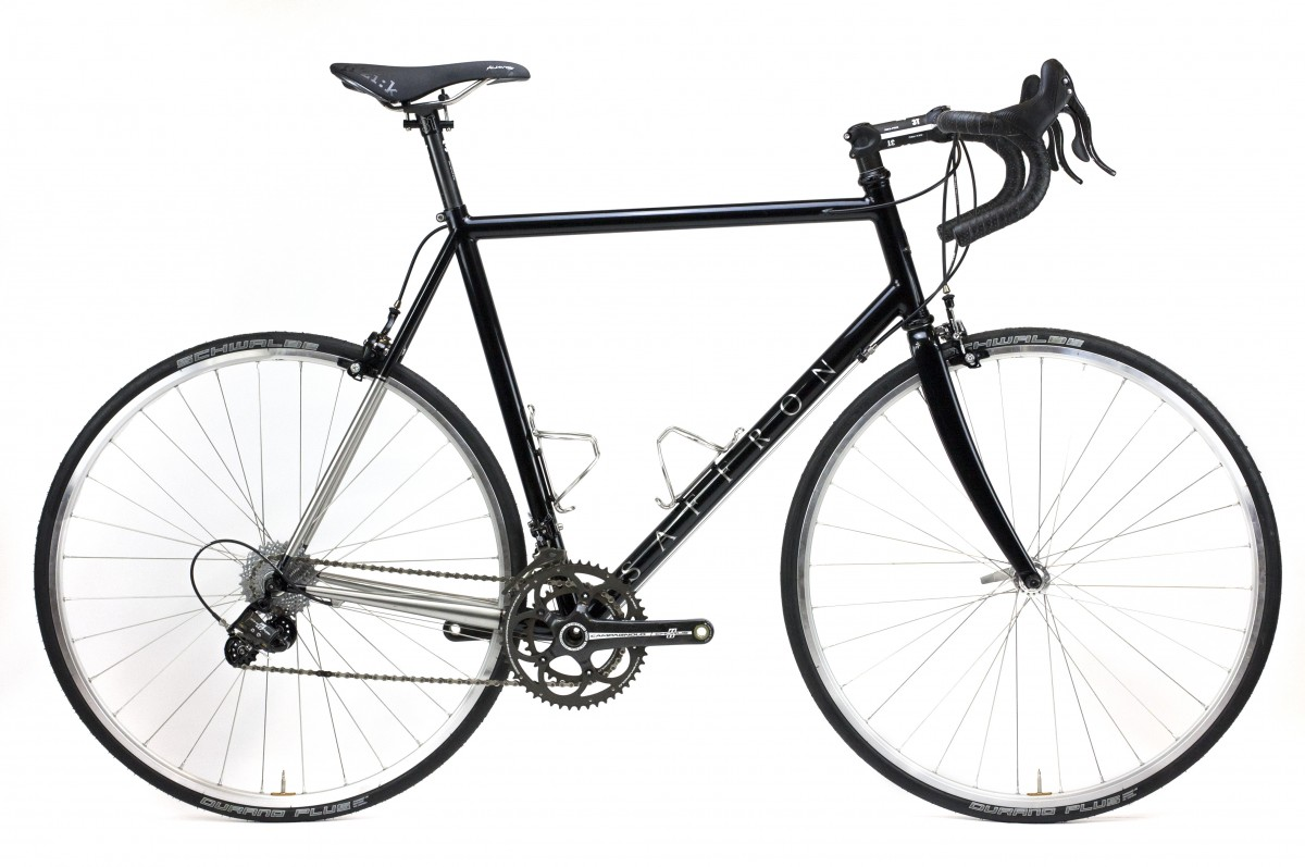 Martin's Stainless steel road bike, custom london