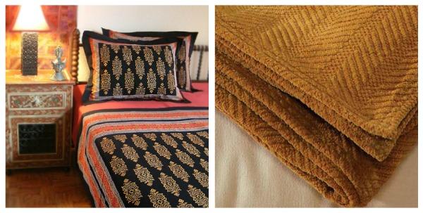 Bedding Blankets And Throws Saffron Marigold