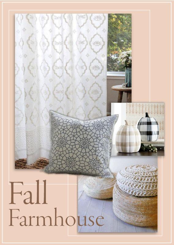 white farmhouse curtains farmhouse