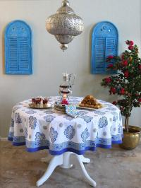 Moroccan bedding, Quatrefoil bedding and table linen ...