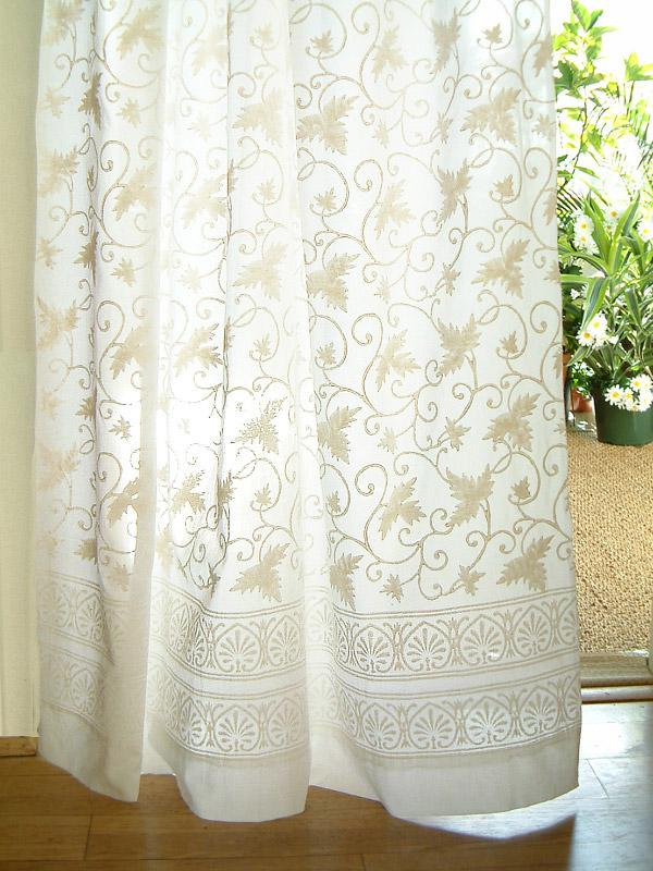 french lace kitchen curtains step stool chair white curtain panel, floral, country cottage | saffron ...