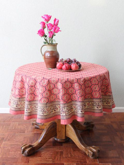 kitchen curtains for sale storage cabinet rose round tablecloth, pink floral tablecloth ...
