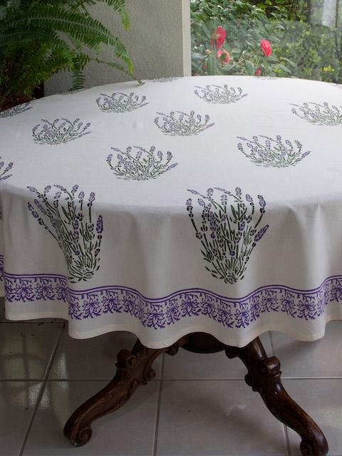 White tablecloth French tablecloth Provence tablecloth