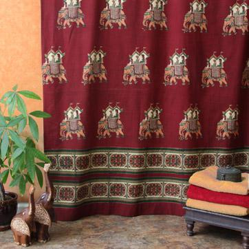 India Shower Curtains