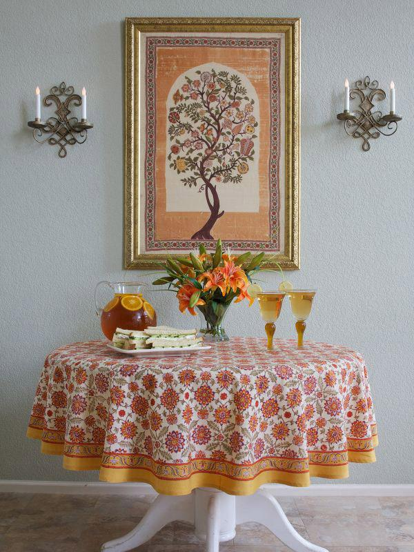 Orange Dining Room Ideas