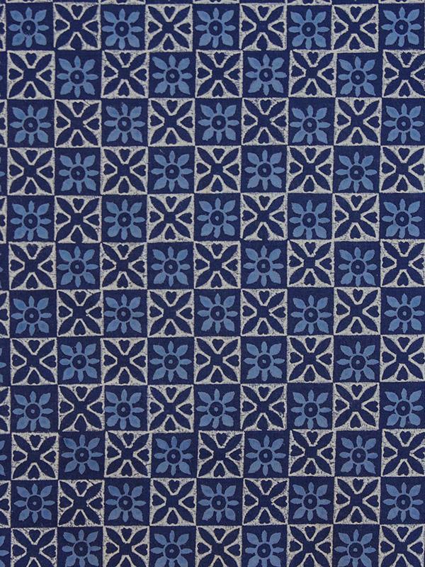 Blue tablecloth Batik tablecloth India tablecloth 90 Round Tablecloth 70 Round Tablecloths