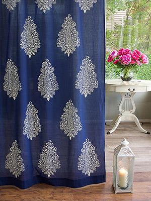 Bohemian Curtains Moroccan Curtains India Curtains Exotic Curtains Sheer Curtain Panels