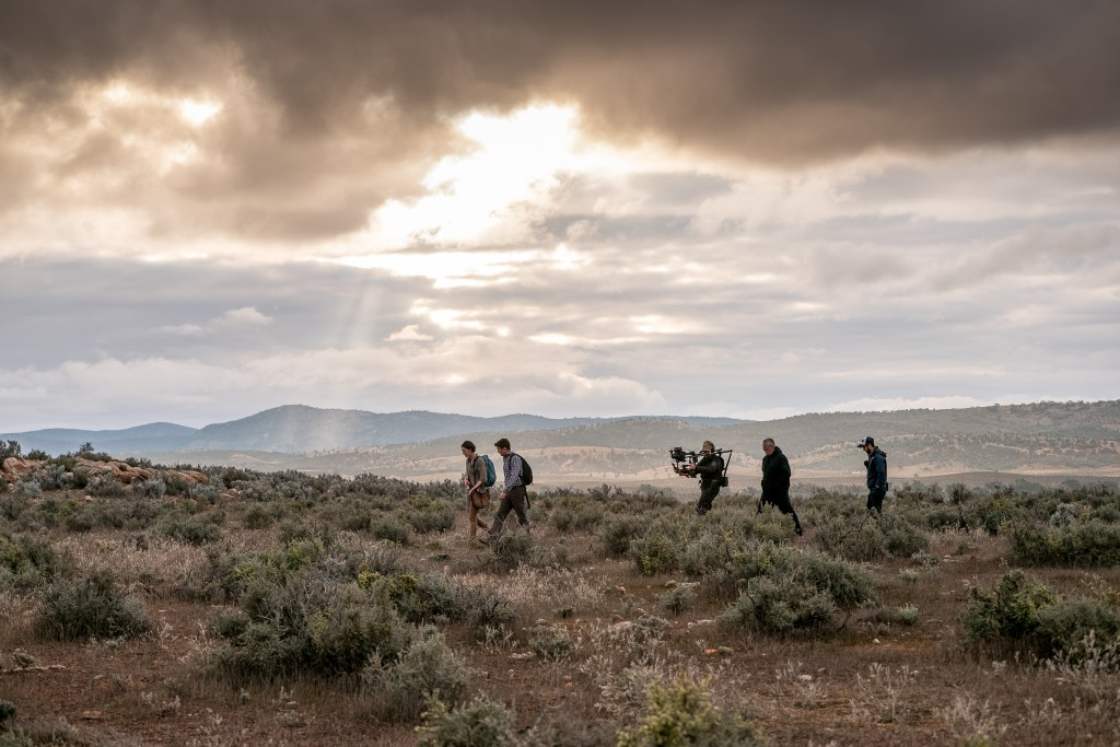 Behind the scenes, on location for Wolf Creek S2, Photo Sam Oster