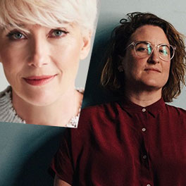SA director Sophie Hyde, and UK actor Emma Thompson (inset).