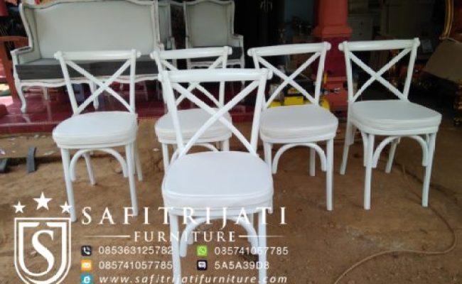 Kursi Cafe Crossback Murah Safitri Jati Furniture