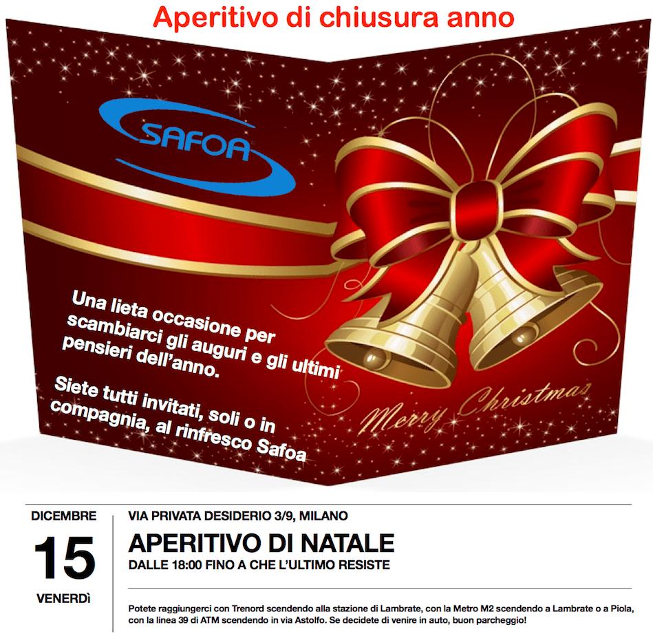 Open day Natale 2017 Safoa