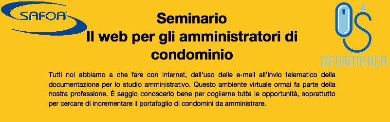 seminario Il web per gli amministratori di condominio OS