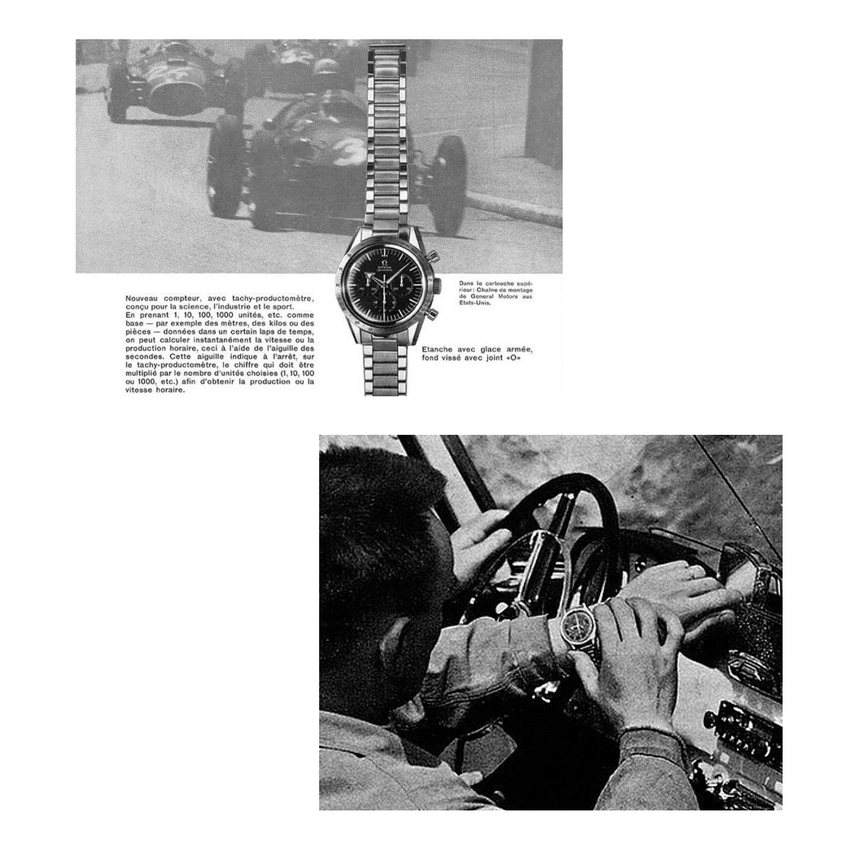 Racing Watches: Omega & Monza