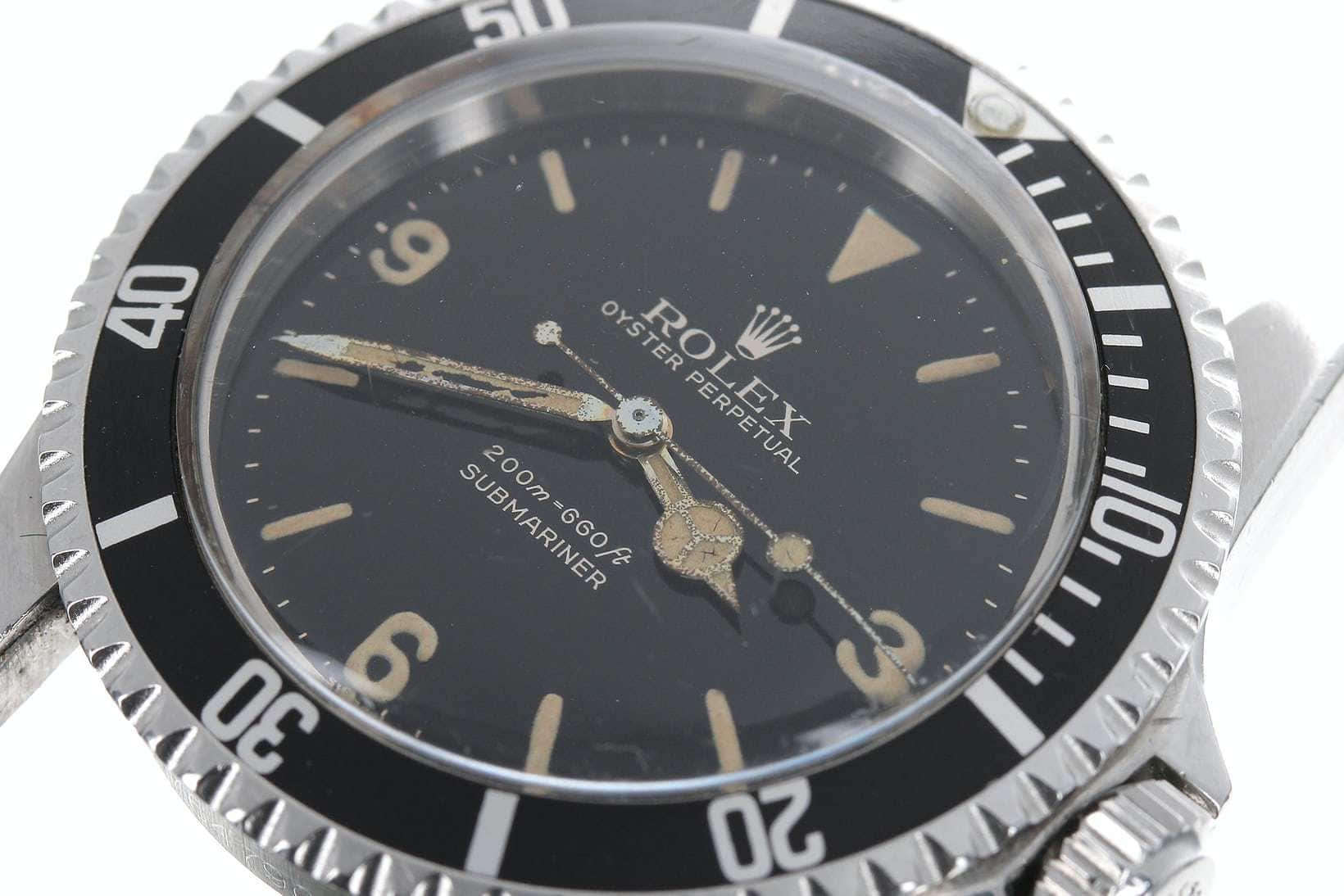 Auction Report: Single-Owner Rolex Submariner 'Explorer Dial' 5512 Sells For Over $250,000