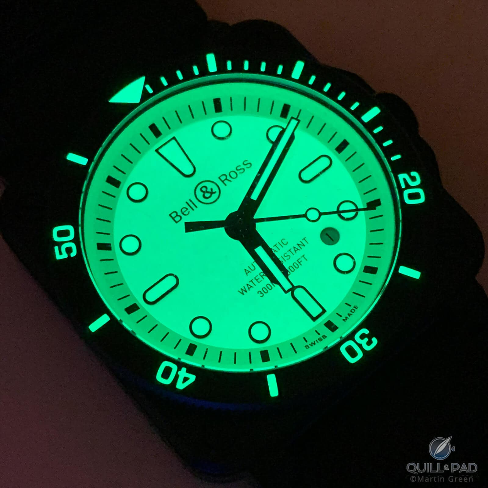 Bell & Ross BR 03-92 Diver Full Lum: The Little Details Are Lit!