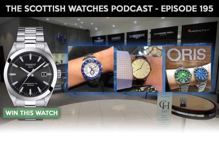 Scottish Watches Podcast #195 : Bringing A. Lange & Sohne and More To Scotland With Chisholm Hunter
