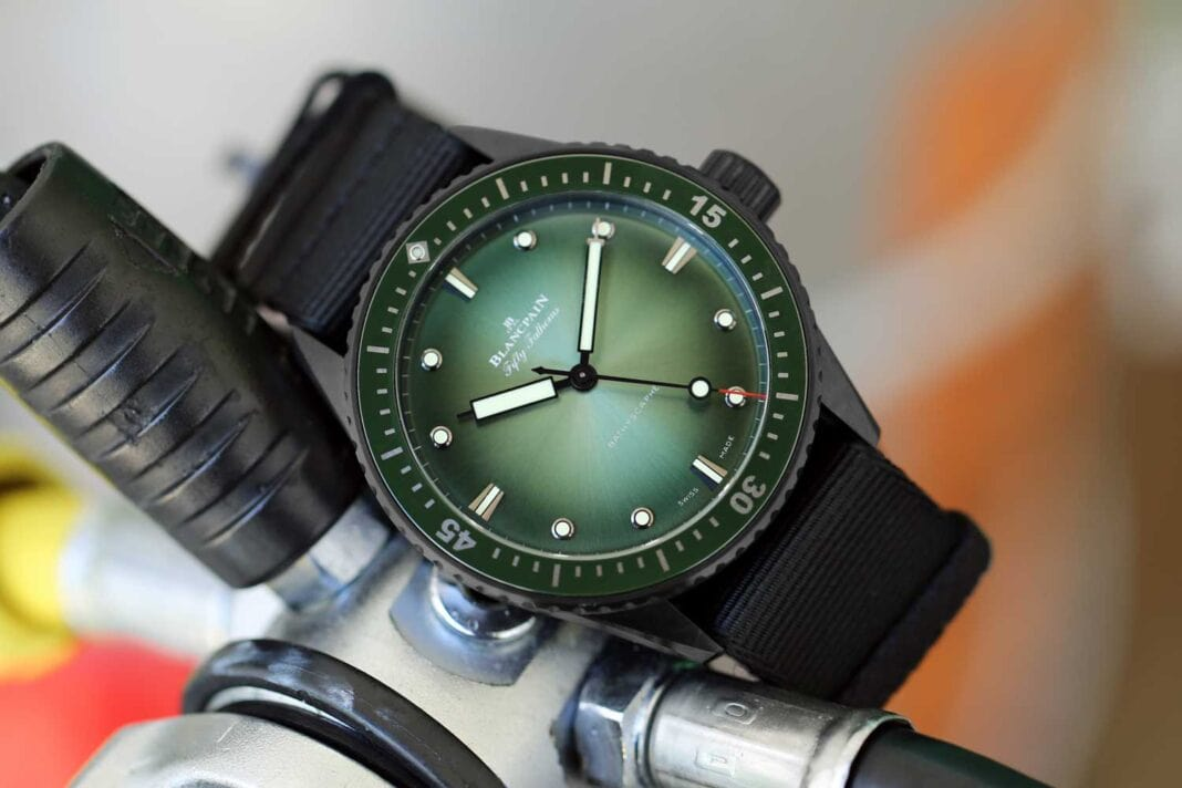 Blancpain's Ocean Commitment inspires the Fifty Fathoms Exceptional Year