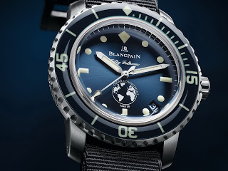 BLANCPAIN & OCEANA Fifty Fathoms Ocean Commitment III AUCTIONED
