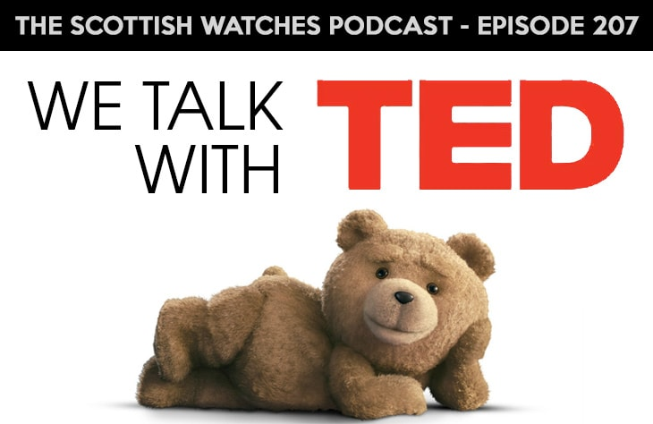 Scottish Watches Podcast #207 : TED Talk