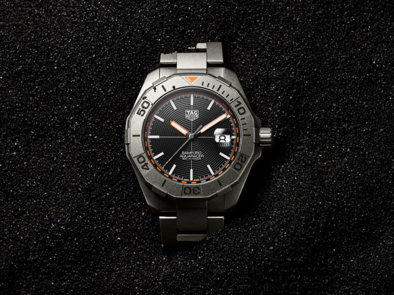 TAG Heuer Introduces the Aquaracer Bamford Limited Edition