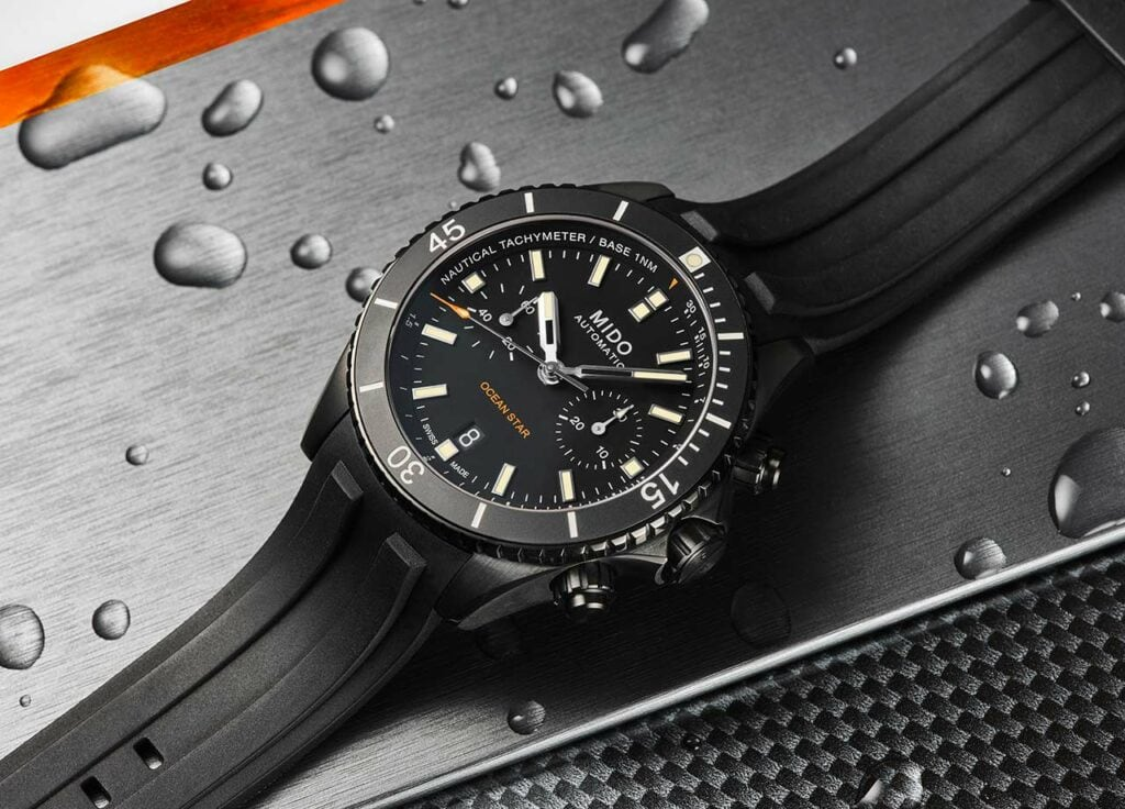 Mido Ocean Star Chronograph Special Edition Watch