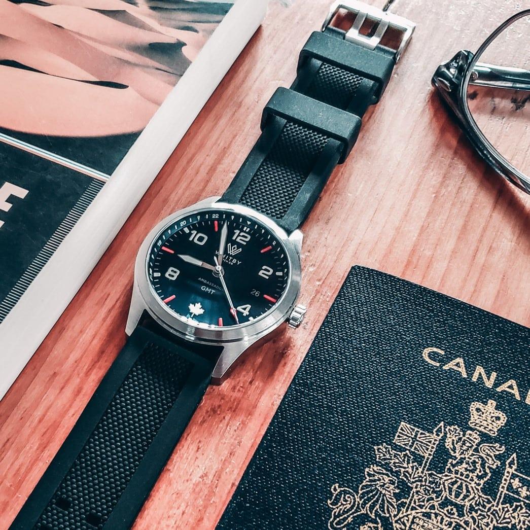 Presentación Whitby Watch Co. Ambassador GMT