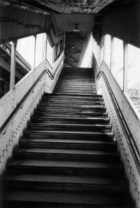 New York City in Photographs, 1962-72: Staircase