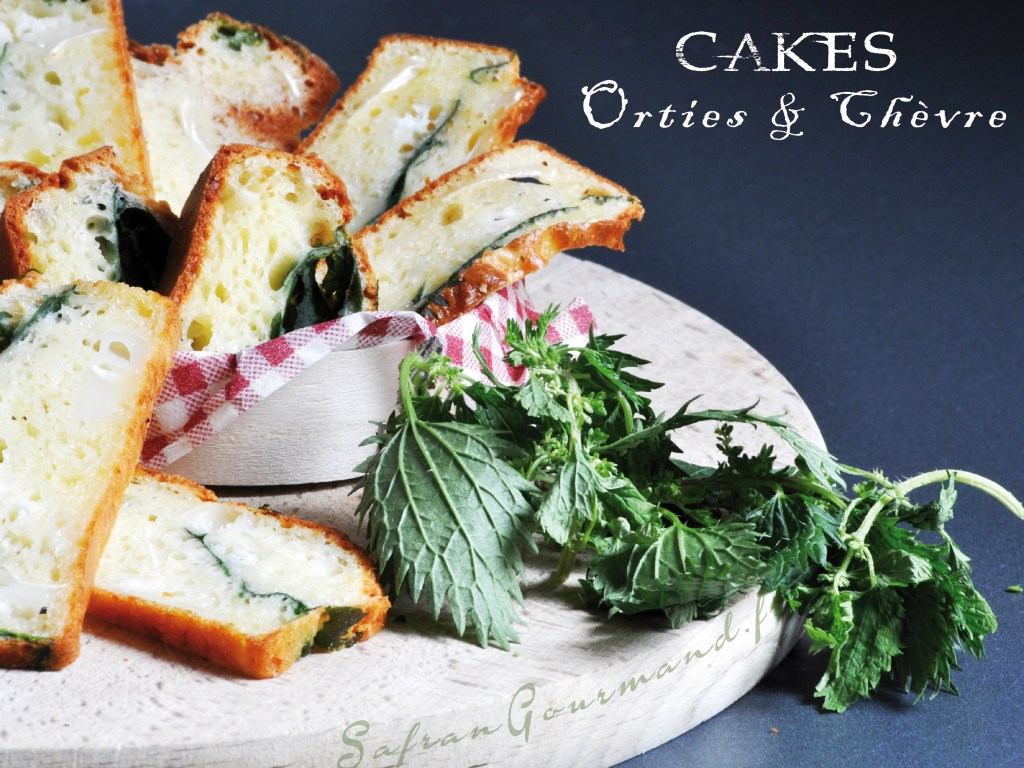 Cake aux Orties & Chèvre