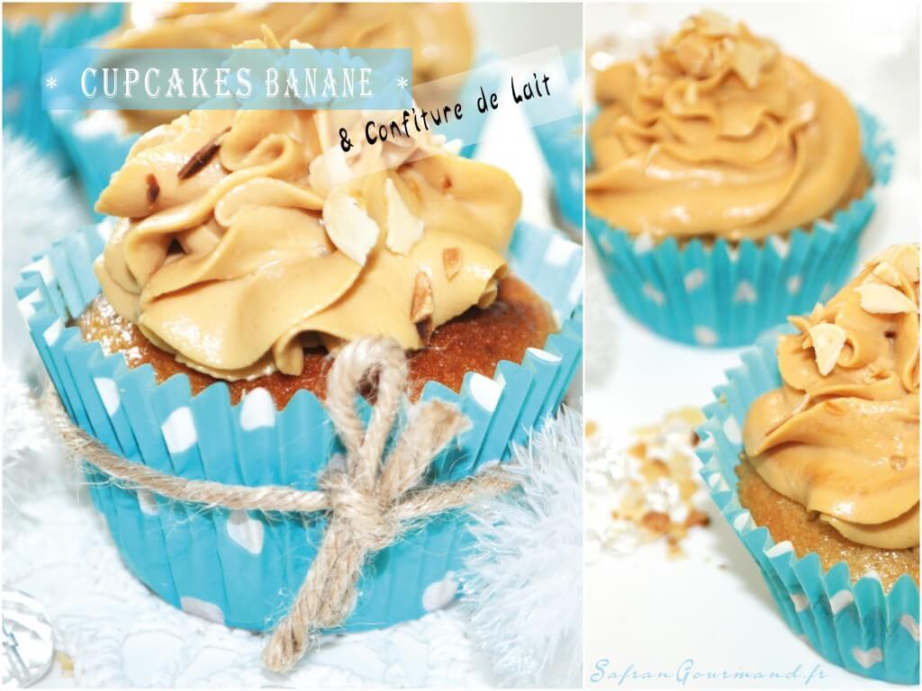 Cupcakes Banane & Confiture de Lait