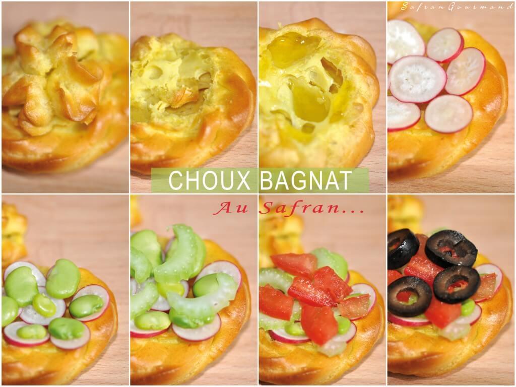 """""""Choux Bagnat"""" au Safran"""