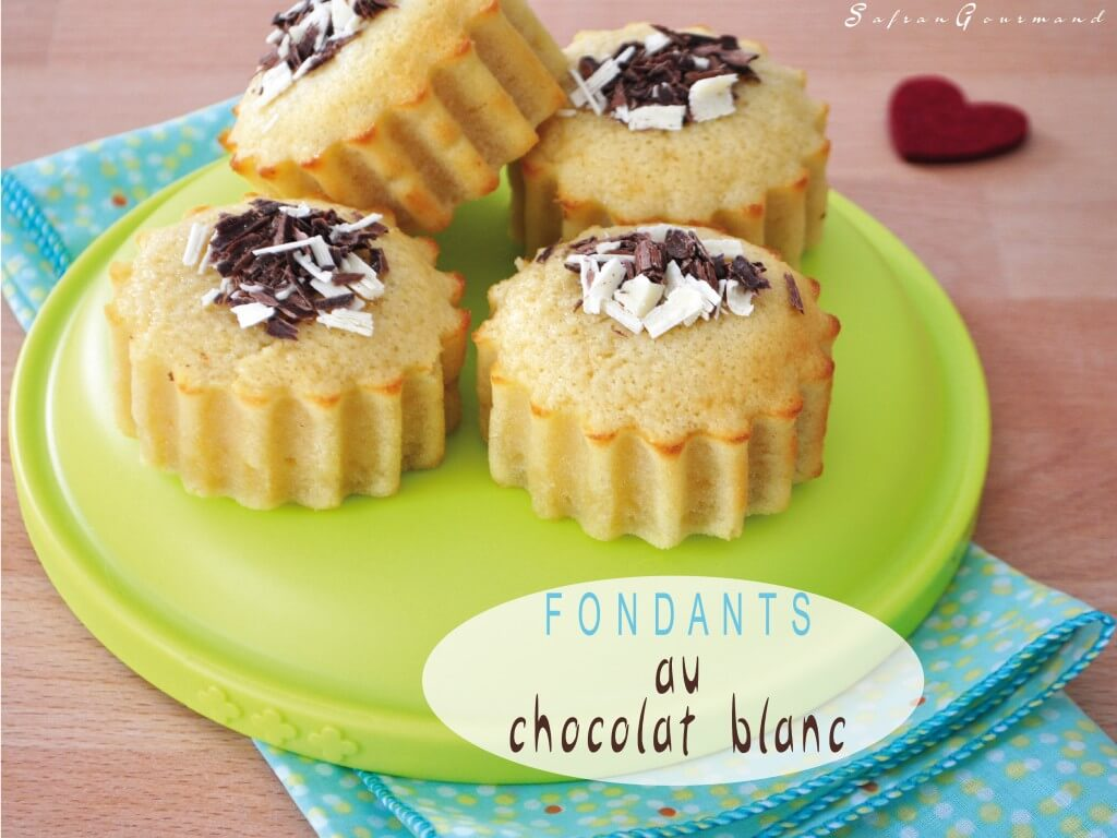 Fondants au Chocolat Blanc