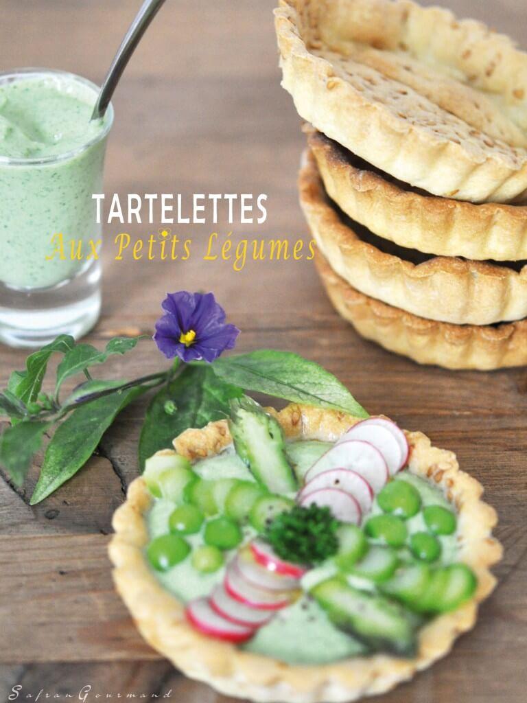 Tartelettes aux Petits Légumes