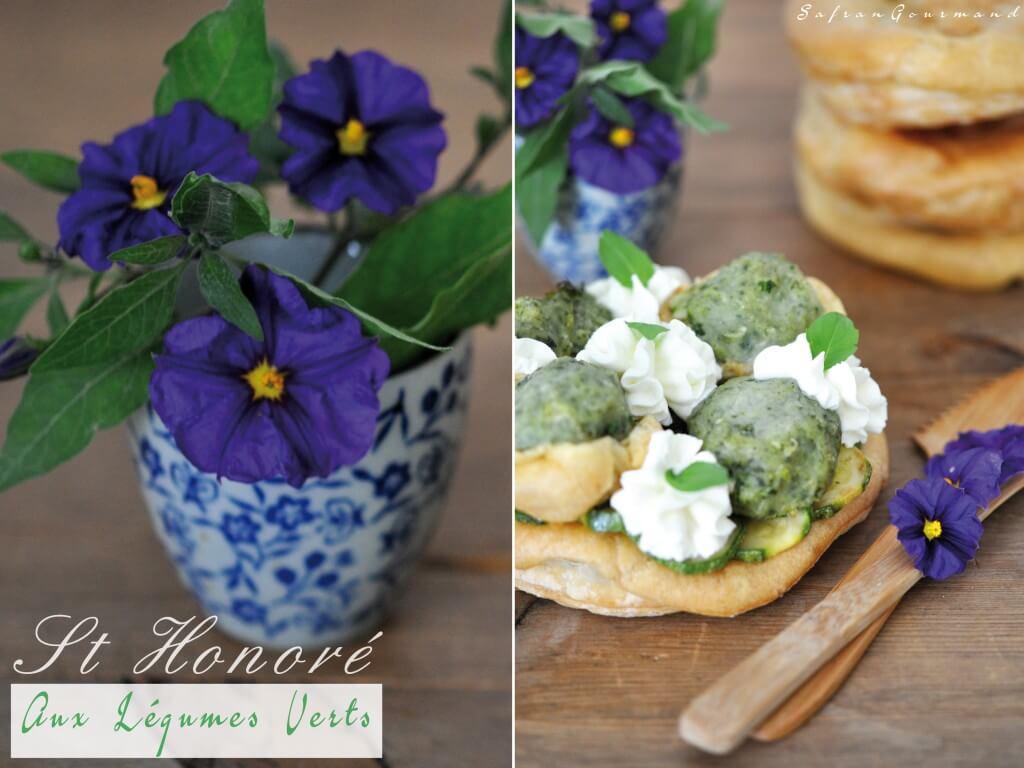 St Honoré aux Légumes Verts