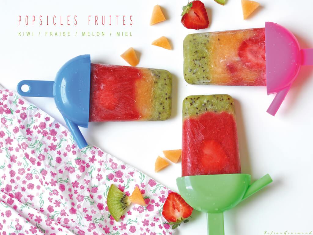 Popsicles fruités !