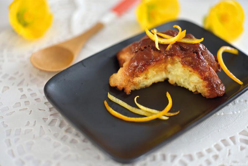 Gâteau de Riz Safrané aux Agrumes