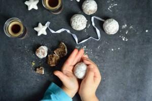 Cookies au Chocolat, Pistaches {Comme des Truffes !}