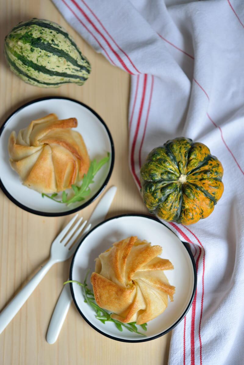 Pastilla à la Courge et au Citron Confit