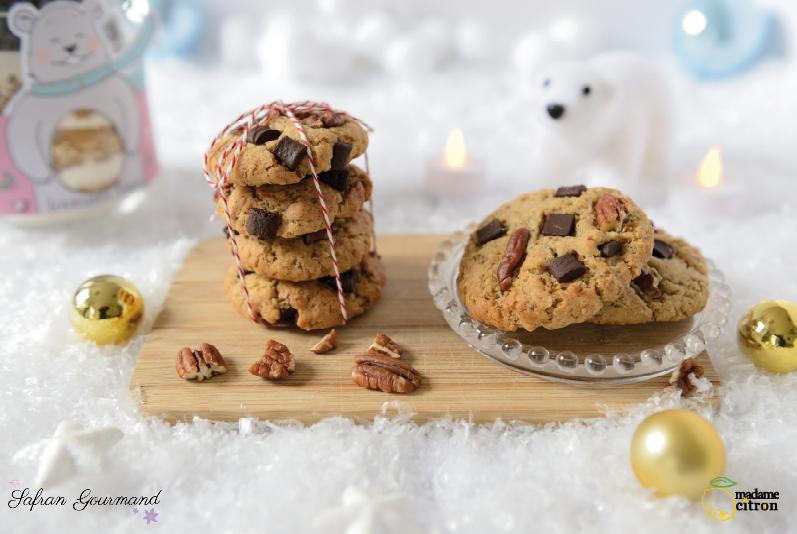 Biscuits de Noël en Bocal