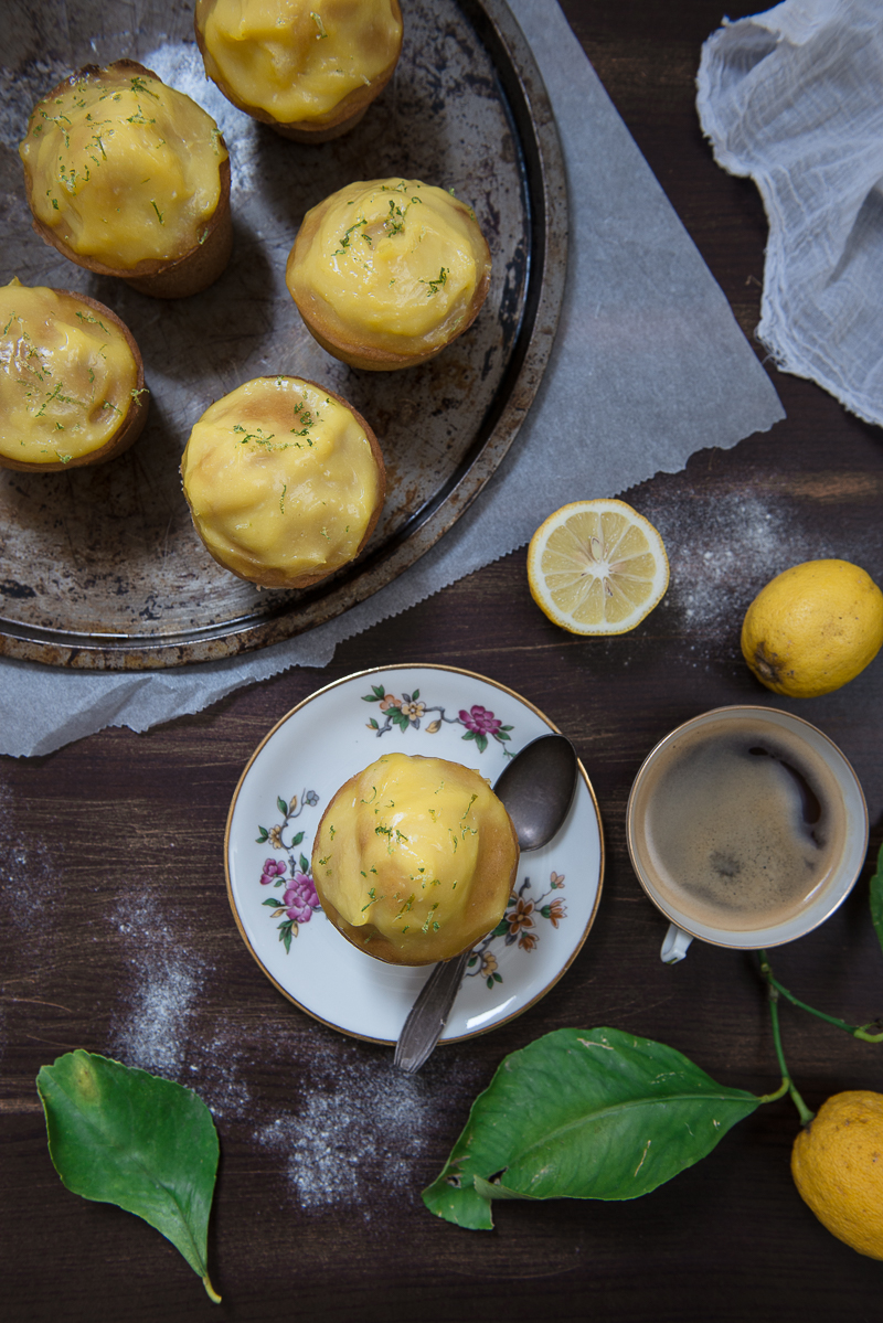 Cupcakes au Lemon Curd