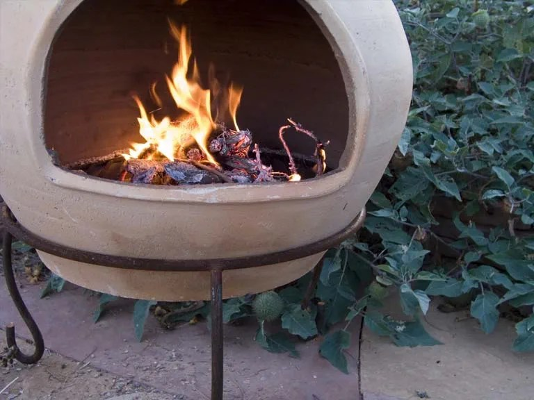 Choosing a garden wood burner  Saga