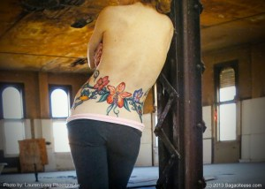 A Tattoo Detour: From Battle-Scarred to Beautiful Work of Art, Inside and Out!