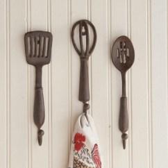 Kitchen Hooks Oval Table Pedestal Utensil Hangers Sagamore Bay Utencil