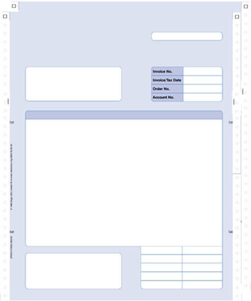 Sage Continuous Invoice 2 Part 060522