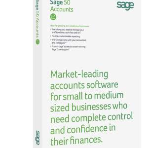 Sage 50 Accounts Standard software perpetual licence