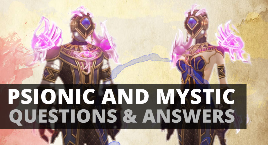 Psionic And The Mystic Part II Questions Answers
