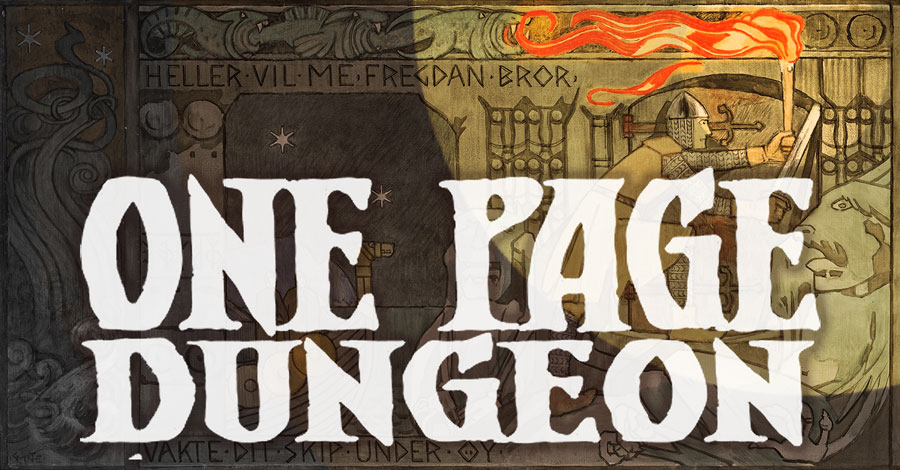 Need short adventure? One Page Dungeon! | Sage Advice D&D