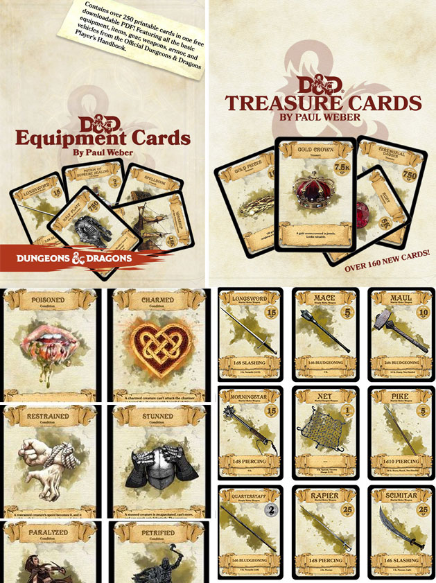 DnD 5e Illustrated Spell Cards Toys & Games Role Playing Games ...